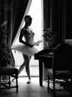 Award winning Fine Art portrait and nude photographer Ilona Pulkstene, Riga, Latvia. Lets Dance, Ballet Dancers, One Shoulder Wedding Dress, Art Gallery, Ballet Skirt, Nude, Fine Art, Black And White, Portrait