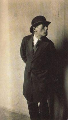 Buster Keaton as Antonin Artaud in Ferenc Molnar's play Liliom, 1923