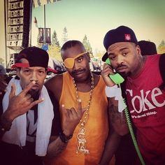 The Funk Doc, Slick Rick Da Ruler, and Meth Tikal