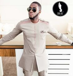 Every Sunday we update this page with the best and latest of men fashion. Latest African Wear For Men, African Shirts For Men, African Dresses Men, African Clothing For Men, Latest African Fashion Dresses, African Men Fashion, African Men Style, Nigerian Men Fashion, Mens Kurta Designs