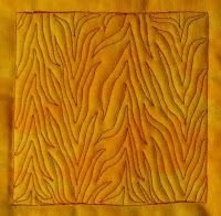 """Free Motion Quilting ~ there are over 400+ free motion quilting designs to choose from!  This one is called """"Cartoon Tree"""".  I like the Basic Chevron (Day 46).  Check it out...some really cool designs and GREAT for Beginners to do too!  All you have to do is TRY it!"""