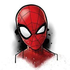 Spiderman Tattoo, Spiderman Drawing, Spiderman Art, Amazing Spiderman, Disney Drawings, Cool Drawings, Avengers Drawings, Marvel Comics Art, Marvel Wallpaper