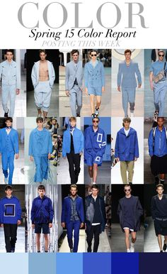 TREND COUNCIL SS 2015- MEN'S COLOR