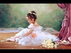 """Peaceful Ballerina"" Oil Painting step by step Demo by Igor Saharov - YouTube"