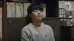 Episode 7: Junghwan tries not freak out over the fact that he's sharing a blanket with Dukseon
