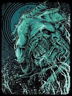 Aliens - ''Alien Queen'' - GODMACHINE ----