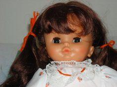 Zapf German Spielen de Mitspielen 20' Doll Kinder Puppen Auburn Hair 1970'S | eBay