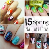 15 Spring Nail Art Ideas. These are adorable!