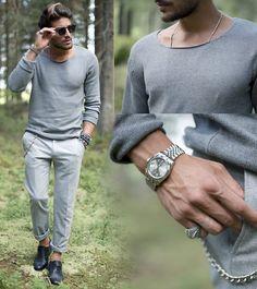 #sweater #grey #streetstyle #style #menstyle #manstyle #menswear #fashion #mensfashion