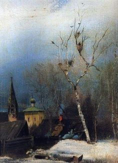 Alexei Savrasov:  Early spring