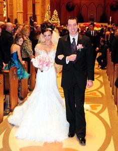 Kyle Busch and Samantha Sarcinella