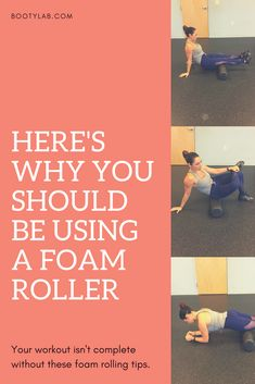 Foam rolling is a great addition to your workout routine. Whether you have tight muscles or sensitive trigger points, find out why (and how) you should be foam rolling. Stretches For Flexibility, Stretching, Roller Workout, Thai Yoga Massage, Foam Roller Exercises, Foam Rolling, Fat Burning Workout, Yoga For Men, Yin Yoga