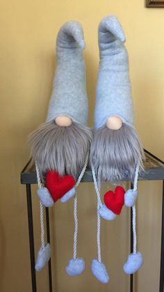 Mini Gnome is a replica of our popular bigger size Nordic Gnomes. Christmas Gnome, Christmas Projects, Christmas Ornaments, Scandinavian Gnomes, Scandinavian Christmas, Xmas Decorations, Holiday Crafts, Diy And Crafts, Craft Projects