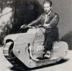 Lehaître tracked-motorcycle-1938 35 TRACKED MOTORCYCLES & CYCLES - http://www.unusuallocomotion.com