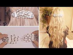 DIY: Skeleton Hand Hair Accessory - YouTube