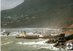 21 Awesome Old Cape Town Pics! - Cape Town is Awesome Abandoned Ships, Abandoned Places, Ship Breaking, Cape Town South Africa, Tactical Survival, African History, Tall Ships, Old Pictures, Paris Skyline