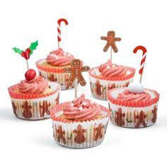 Christmas Cupcake Set | Poundland