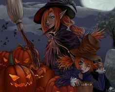 1024x768 Halloween Witches Wallpaper For PC Mac IPhone And IPad