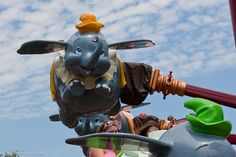 Dumbo ride, Walt Disney World
