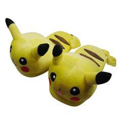 Des chaussons Pikachu, le Pokemon le plus kawaï