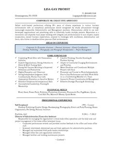 sample executive assistant r233sum233 i love the layout and