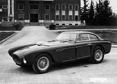 Ferrari 340 Mexico Vignale Coupé designed by Giovanni Michelotti. 1952