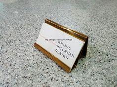디자인 명함꽂이 #Hanger # Business Card Holder #명함꽂이 #명함 #인테리어 명함 #꽂이 #발색행거 #발색 #행거…
