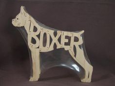 """Awesome wooden boxer puzzle!! Listed at the """"Puzzimals"""" shop on www.etsy.com for $12."""