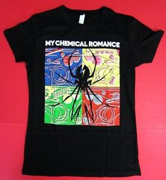 My Chemical Romance New Juniors XL Black T Shirt MCR Explosive Danger Days Tee on eBay