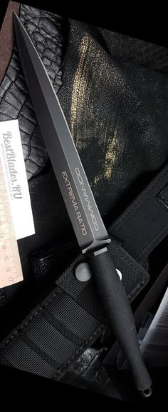 Extrema Ratio ER Commando Knife Fixed Blade @thistookmymoney