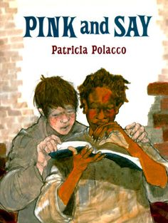 Pink and Say ~ Powerful story of the unlikely friendship of two boys in the civil war told in picture book format. Patricia Polacco is a master storyteller who weaves her own history into the book to make it wonderfully meaningful. Notice And Note, Patricia Polacco, Civil War Books, Interactive Read Aloud, Reading Lessons, Teaching Reading, Guided Reading, Close Reading, Reading School
