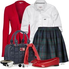 """""""Private School Individuality Contest #1"""" by angkclaxton on Polyvore"""