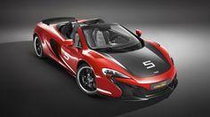 2016 McLaren 650S Can‑Am Red Car Wallpaper
