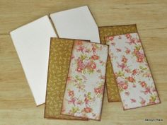 Beccy's Place: Tutorial: Gatefold Card