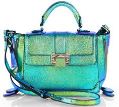 The Rebecca Minkoff Iridescent Elle Finally Hits the Virtual Shelves - PurseBlog