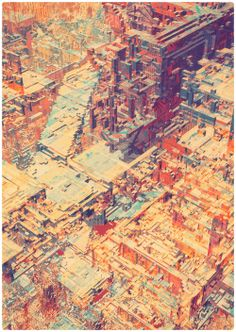 AO:城市主题插画 / City Theme Illustrations-日新建筑