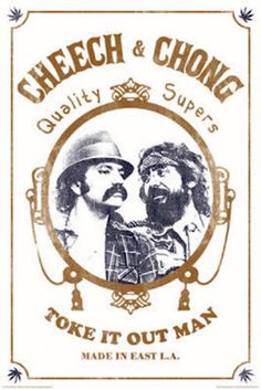 "Discover: ""cheech and chong poster"" products ideas. Marijuana Art, Cannabis, Marijuana Funny, Vintage Movies, Vintage Posters, Cheech Y Chong, Weed Posters, Stoner Art, Stoner Room"