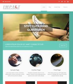 MH Impact - Best Business WordPress Theme : MH Themes http://www.awordpressthemesreview.com/mh-impact-review-mh-themes/ #WordPress