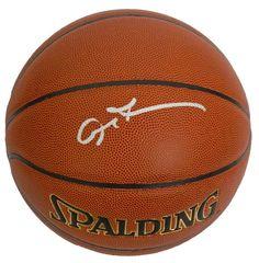 bae5659b98fe7d Allen Iverson Signed Spalding NBA Indoor Outdoor Basketball