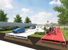 La ciutat holandesa de Rotterdam aviat pot ser la primera al món a tenir carreteres fetes de plàstic reciclat amb residus recuperats pels oceans de tot el món. Revolucionaris sistemes vials amb panells modulars de plàstic que s'acoblen entre si, desmuntables segons necessitats, amb fàcil accés per a reparacions i un espai buit per a infraestructures bàsiques. Una bona proposta ecològica no nomes perque converteix els residuos en alguna cosa util, també perque substitueix l'asfalt tradicional…