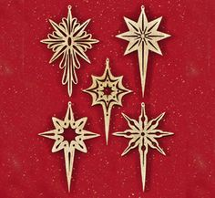 Shining Star Scroll Saw Ornaments