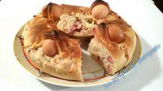 Il casatiello napoletano è una ricetta napoletana tipicamente pasquale, risale almeno al 600. Realizzate anche voi questa ricetta per Pasqua.