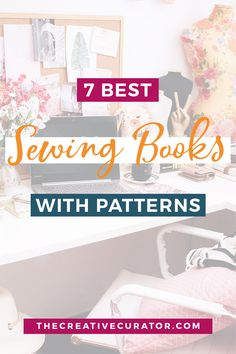These best sewing books with patterns are perfect for sewing beginners and more advanced sewists too! A list of sewing books with patterns that you can refer to again and again on your sewing journey! Beginner Sewing Patterns, Japanese Sewing Patterns, Easy Sewing Projects, Sewing Projects For Beginners, Free Sewing, Vintage Sewing Patterns, Sewing Hacks, Sewing Tutorials, Sewing Tips