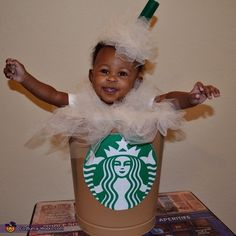 Starbucks Mocha Frappuccino Baby Halloween Costume Idea