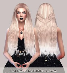 Salem2342: Stealthic Cadence hair retextured - Sims 4 Hairs - http://sims4hairs.com/salem2342-stealthic-cadence-hair-retextured-2/