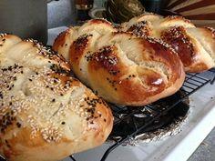 Pão judaico (Challah)
