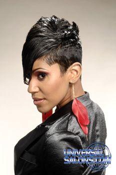 Hair Styles on Pinterest | Black Hair Salons, Black Hair and Short