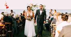 Jenna and Trevor's stunning backyard wedding is unlike any you've ever seen before! You won't want to miss this gorgeous gallery captured by Young Glass Photography.