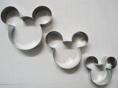 Loja Santo Antonio: Cortadores de Biscoitos do Mickey!
