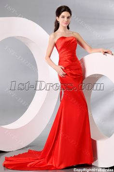 1st-dress.com Offers High Quality Chic Burnt Orange Formal Prom Dresses 2014,Priced At Only US$148.00 (Free Shipping)